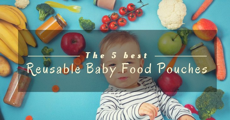An Honest Review Of The Top 5 Best Reusable Baby Food Pouches