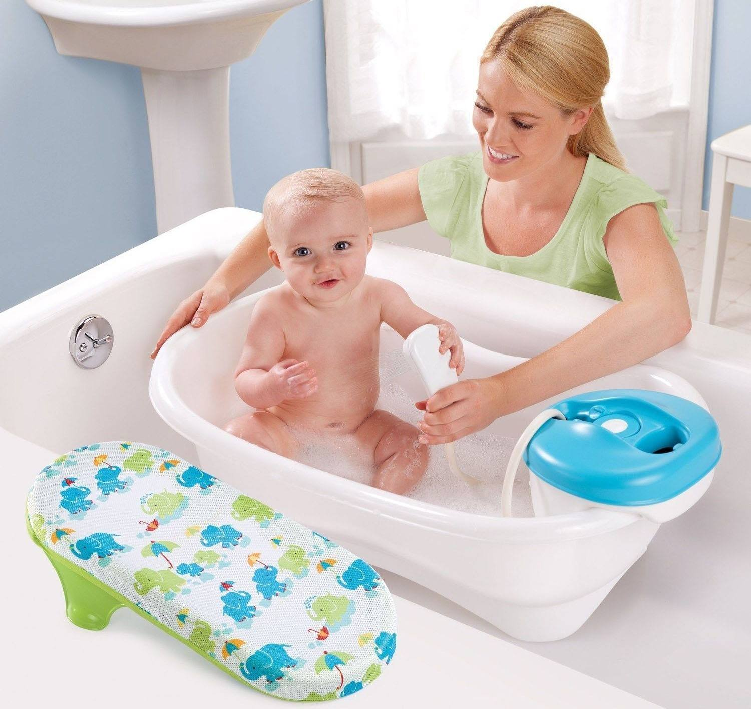7 Tips For Bathing A Baby - The Impressive Kids