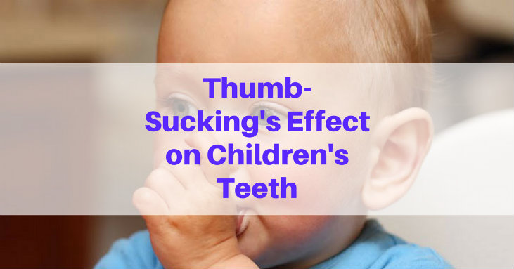 Thumb Sucking Effect on Children Teeth