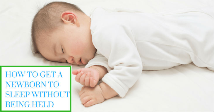How-To-Get-A-Newborn-To-Sleep-Without-Being-Held